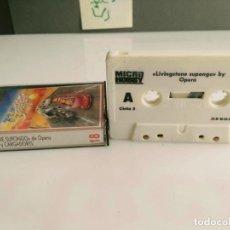 Videojuegos y Consolas: ANTIGUO JUEGO PARA SPECTRUM LIVINGTONE SUPONGO. Lote 140110498
