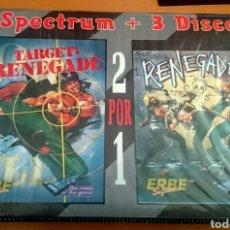 Videojuegos y Consolas: SPECTRUM +3 RENEGADE DOBLE. Lote 140394581