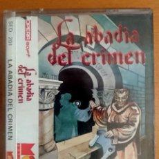 Videojuegos y Consolas: SPECTRUM +3 LA ABADIA DEL CRIMEN. Lote 140394897