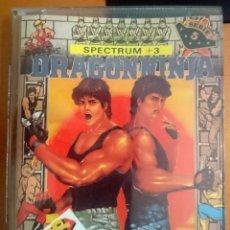 Videojuegos y Consolas: SPECTRUM +3 DRAGON NINJA. Lote 140396853