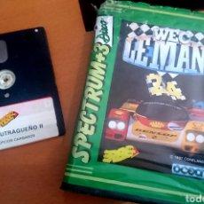 Videojuegos y Consolas: SPECTRUM +3 LOTE WEC LE MANS Y BUTRAGUEÑO 2. Lote 140397004