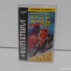 Videojuegos y Consolas: JUEGO CINTA SPECTRUM MOTORBIKE MADNESS, DRC SOFT. Lote 140863950