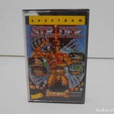 Videojuegos y Consolas: JUEGO CINTA SPECTRUM LOMO ROSA STRIDER, CAPCOM, ERBE SOFTWARE. Lote 140870130