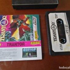 Videojuegos y Consolas: TRANTOR TESTEADO SPECTRUM. Lote 141132202