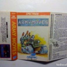 Videojuegos y Consolas: (SOLO CARATULA ORIGINAL - SPECTRUM) ARMY MOVES.. Lote 141912826