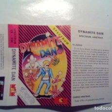 Videojuegos y Consolas: (SOLO CARATULA ORIGINAL - SPECTRUM) DYNAMITE DAN.. Lote 141912902