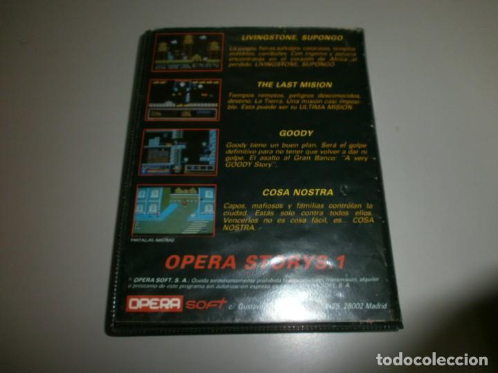 Videojuegos y Consolas: juego dificil spectrum opera storys 1 livingstone supongo the last mision goody cosa nostra - Foto 3 - 142078958
