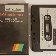 Videojuegos y Consolas: ANTIGUO CASSETTE ZX SPECTRUM - GUIA SINCLAIR. Lote 142161914