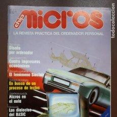 Videojuegos y Consolas: MICROS - LA REVISTA PRÁCTICA DEL ORDENADOR PERSONAL - Nº3. Lote 142255058