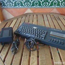 Videojuegos y Consolas: TECLADO CABLES CARGADOR SINCLAIR 2 128 K 2 SPECTRUM DATARCODER NO ESTA PROBADO. Lote 195795338