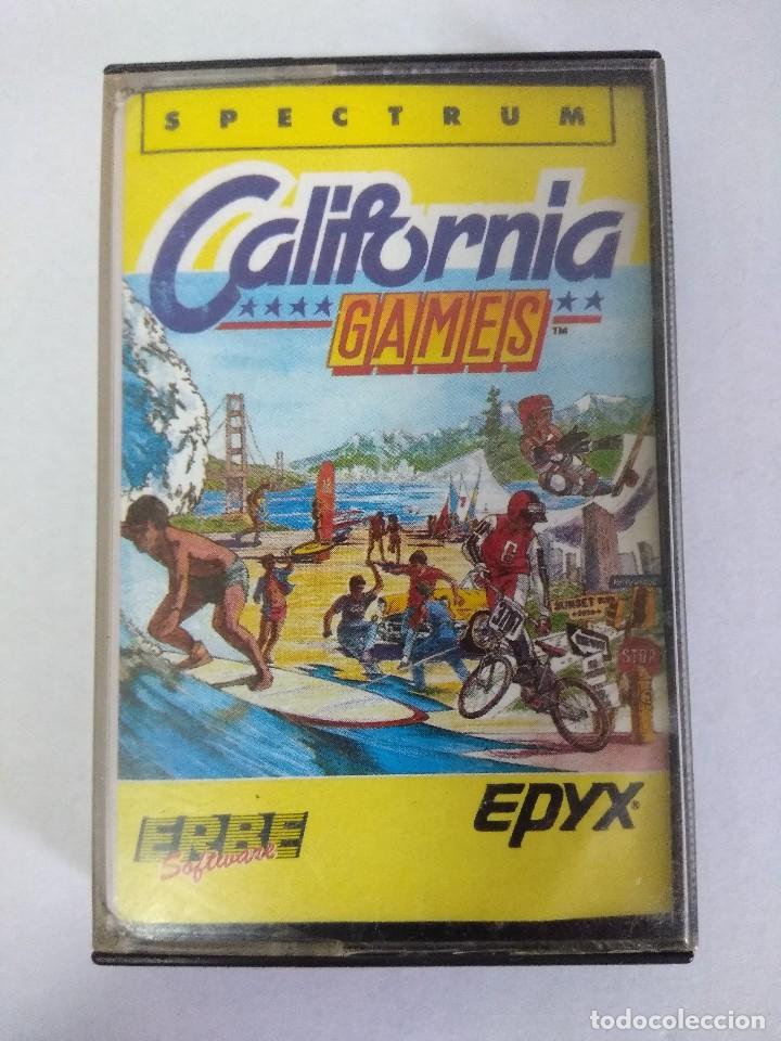JUEGO/CALIFORNIA GAMES/SPECTRUM/ERBE SOFTWARE. (Juguetes - Videojuegos y Consolas - Spectrum)