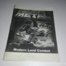 Videojuegos y Consolas: MANUAL INSTRUCCIONES HEAVY METAL MODERN LAND COMBAT SPECTRUM. Lote 145389254