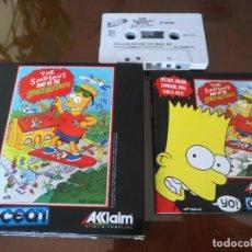Videojuegos y Consolas: BART VS SPACE MUTANTS SIMPSONS TESTEADO SPECTRUM. Lote 145497566