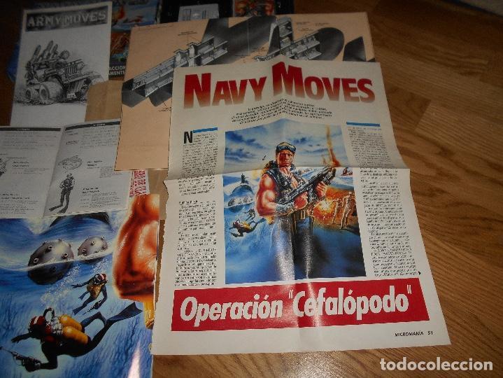 Videojuegos y Consolas: JUEGO SPECTRUM NAVY MOVES CAJA CARTON COMPLETO DOBLEBUEN ESTADO INCLUYE POSTER Y PAPELES - Foto 9 - 146913426