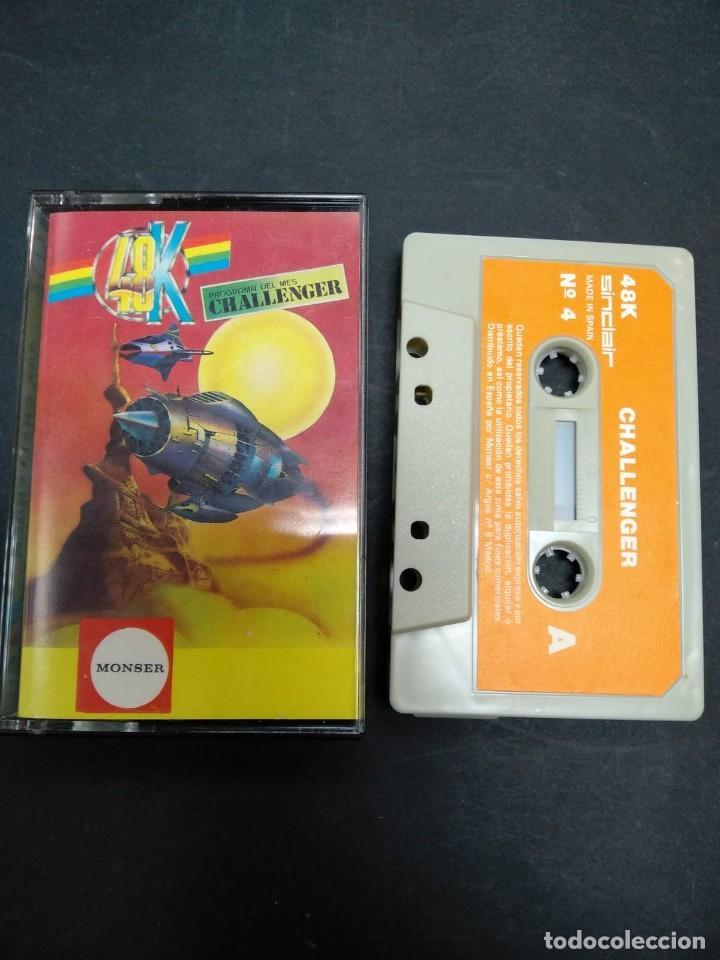 CHALLENGER / SINCLAIR ZX SPECTRUM / CASSETTE / RETRO (Juguetes - Videojuegos y Consolas - Spectrum)