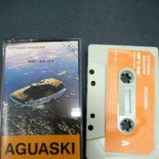 Videojuegos y Consolas: AGUASKI SINCLAIR ZX SPECTRUM / CASSETTE / RETRO. Lote 146931202
