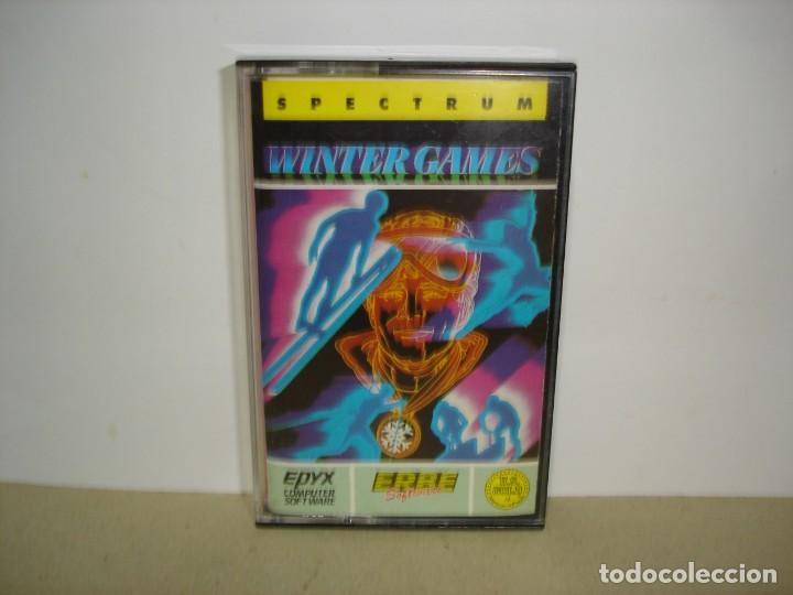 SPECTRUM. WINTER GAMES (ERBE) - SINCLAIR SPECTRUM. (Juguetes - Videojuegos y Consolas - Spectrum)