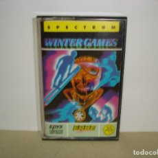 Videojuegos y Consolas: SPECTRUM. WINTER GAMES (ERBE) - SINCLAIR SPECTRUM.. Lote 147376638