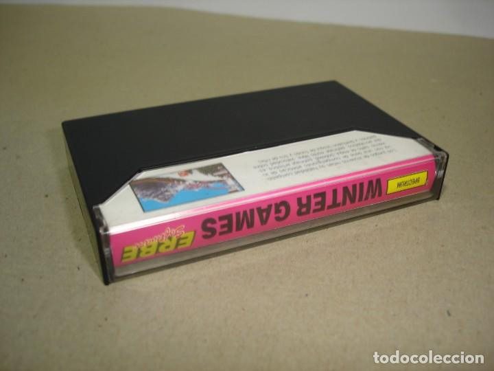 Videojuegos y Consolas: SPECTRUM. WINTER GAMES (ERBE) - SINCLAIR SPECTRUM. - Foto 3 - 147376638