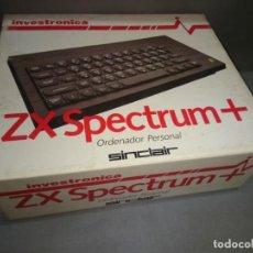 Videojuegos y Consolas: 818- ZX SPECTRUM + ( INVESTRONICA) SINCLAIR VERSION ESPAÑA -RARE. Lote 147381106