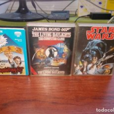 Videojuegos y Consolas: LOTE TRES JUEGOS. STAR WARS, JAMES BOND 007 IN THE LIVING DAYLIGHTS, THE WAY OF THE EXPLODING FIST. . Lote 147506946