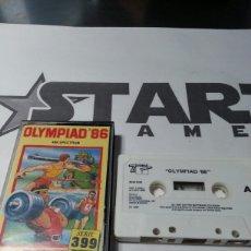Videojuegos y Consolas: JUEGO SPECTRUM OLYMPIAD 86. Lote 147583326