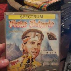 Videojuegos y Consolas: PERICO DELGADO. JUEGO DE SPECTRUM. Lote 147638606