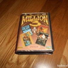 Videojuegos y Consolas: JUEGO SPECTRUM ESPAÑOL THEY SOLD A MILLION 3. RAMBO. KUNFU MASTER. GHOST BUSTER. BUEN ESTADO. Lote 147754650