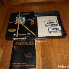 Videojuegos y Consolas: JUEGO DE SPECTRUM: 3D CONSTRUCTION KIT - DRO SOFT - CAJA GRANDE. Lote 147757014