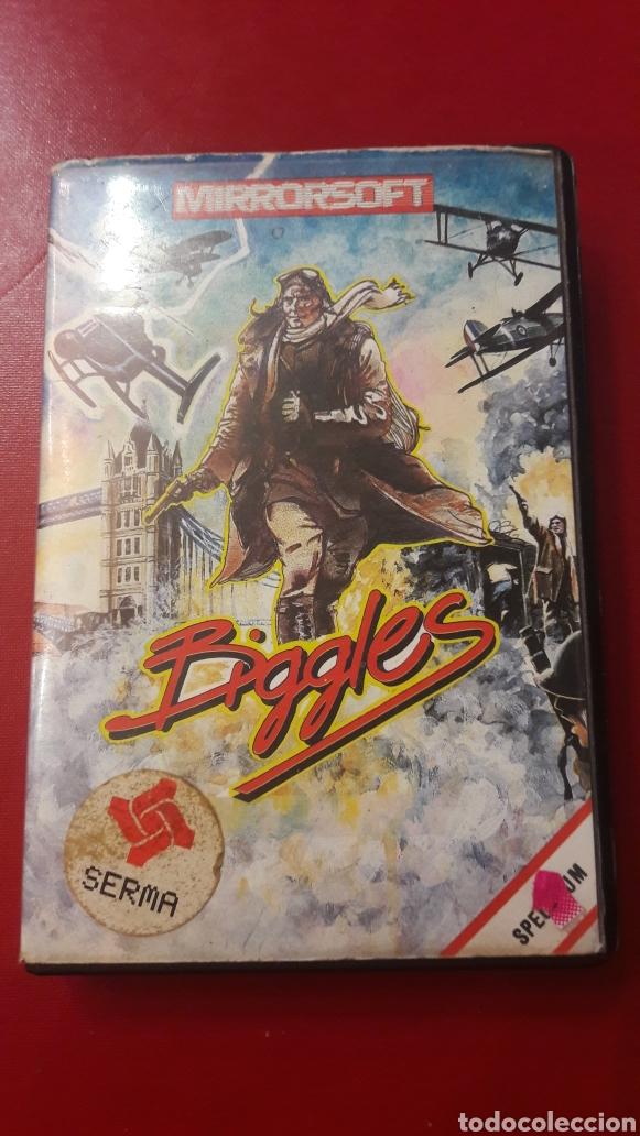 JUEGO BIGGLES SPECTRUM. MIRRROSOFT 1986 (Juguetes - Videojuegos y Consolas - Spectrum)