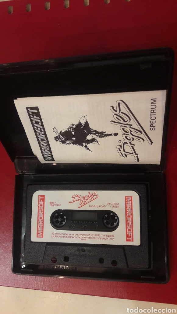 Videojuegos y Consolas: Juego Biggles spectrum. Mirrrosoft 1986 - Foto 2 - 148417294