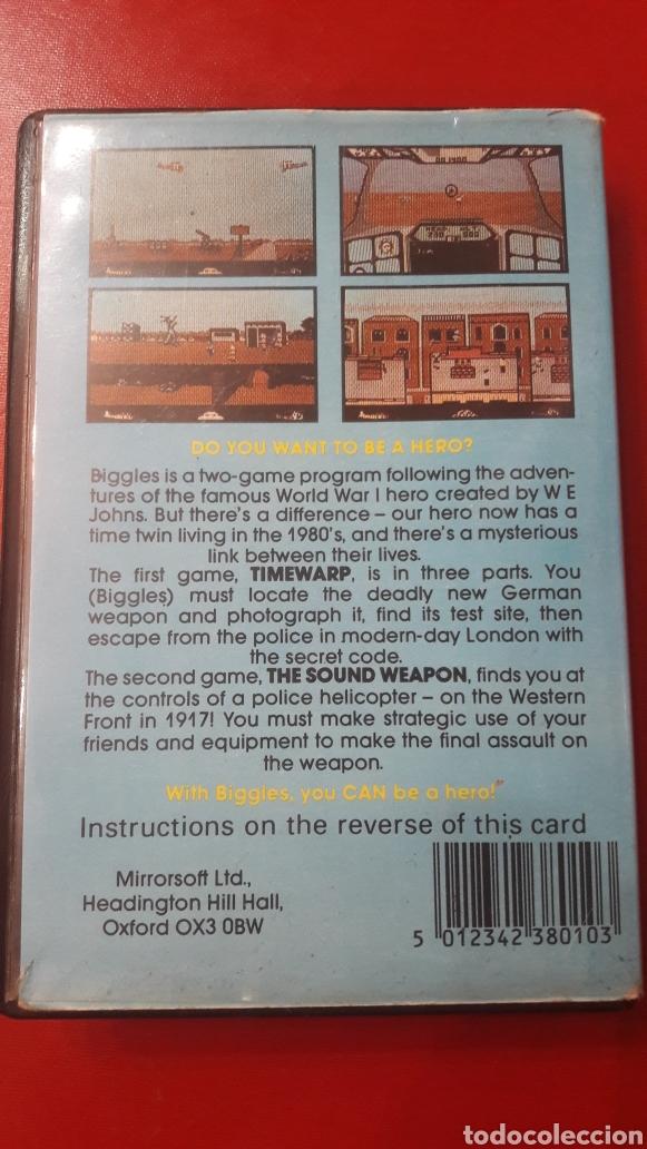 Videojuegos y Consolas: Juego Biggles spectrum. Mirrrosoft 1986 - Foto 3 - 148417294