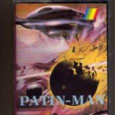Videojuegos y Consolas: CASETE JUEGO SPECTRUM PATIN-MAN MONSER, PRECINTADO. Lote 148548306