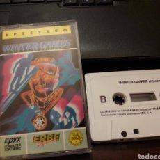 Videojuegos y Consolas: WINTER GAMES. JUEGO DE ORDENADOR SPECTRUM. Lote 149652685