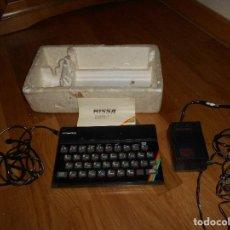 Videojuegos y Consolas: ORDENADOR PERSONAL SINCLAIR ZX SPECTRUM PERSONAL COMPUTER CON CORCHO. Lote 150786922