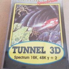 Videojuegos y Consolas: CLÁSICOS SPECTRUM / TUNNEL 3D / SPECTRUM 16K, 48K Y +2 / MICROBYTE / COMO NUEVO.. Lote 151093430