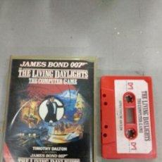 Videojuegos y Consolas: JAMES BOND 007 IN THE LIVING DAYLIGHTS - SPECTRUM - SPECTRUM ZX. Lote 151252786
