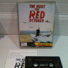 Videojuegos y Consolas: THE HUNT FOR RED OCTOBER SPECTRUM ZAFIRO JEWELCASE. Lote 151392522