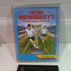 Videojuegos y Consolas: PETER BEARDSLEY'S SOCCER SPECTRUM ZAFIRO JEWELCASE. Lote 151392802