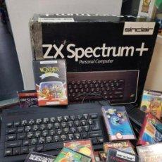 Videojuegos y Consolas: SPECTRUM ZX EN CAJA Y 22 JUEGOS,. Lote 151476230