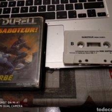 Videojuegos y Consolas: SABOTEUR CINTA. Lote 151882264