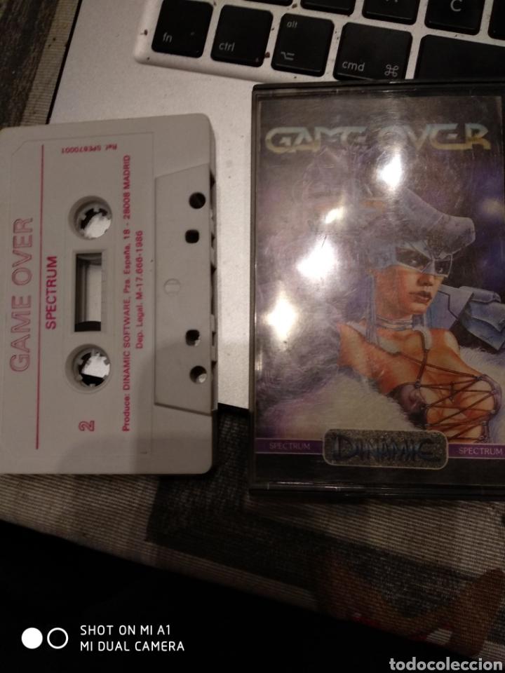 GAME OVER - CINTA (Juguetes - Videojuegos y Consolas - Spectrum)