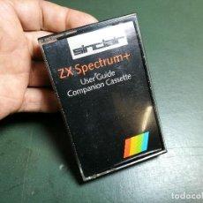 Videojuegos y Consolas: USER GUIDE COMPANION JUEGO CASSETTE CINTA SPECTRUM SINCLAIR ZX 48K 128K-. Lote 153478062