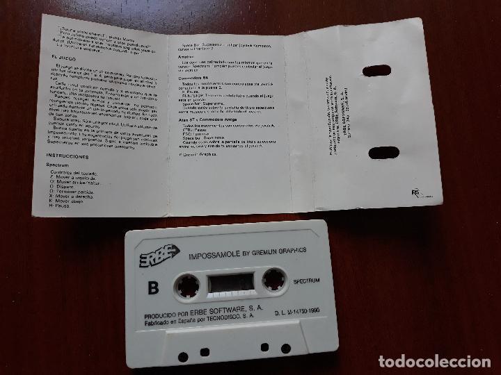 Videojuegos y Consolas: Videojuego impossimole spectrum- casete erbe 1990 - Foto 3 - 154520126