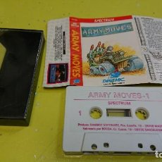 Videojuegos y Consolas: SPECTRUM - JUEGO ARMY MOVÉS 2 DE CONSOLA SPECTRUM . Lote 155143398