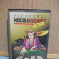 Videojuegos y Consolas: SPECTRUM MICRO HOBBY Nº 10 CASETE. Lote 155408518