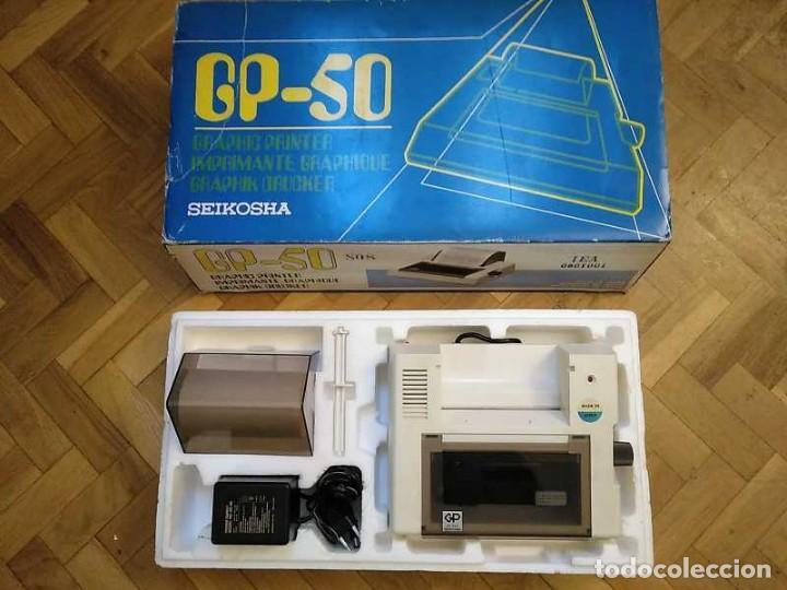IMPRESORA SEIKOSHA GP-50S COMPATIBLE SINCLAIR SPECTRUM & ZX81 - PRINTER IMPRIMANTE DRUNCKER GP50S (Juguetes - Videojuegos y Consolas - Spectrum)