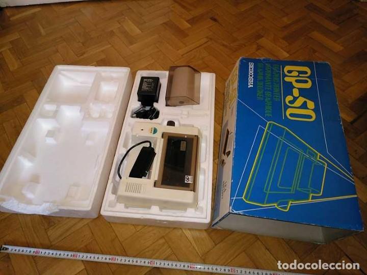 Videojuegos y Consolas: IMPRESORA SEIKOSHA GP-50S COMPATIBLE SINCLAIR SPECTRUM & ZX81 - PRINTER IMPRIMANTE DRUNCKER GP50S - Foto 2 - 155686126