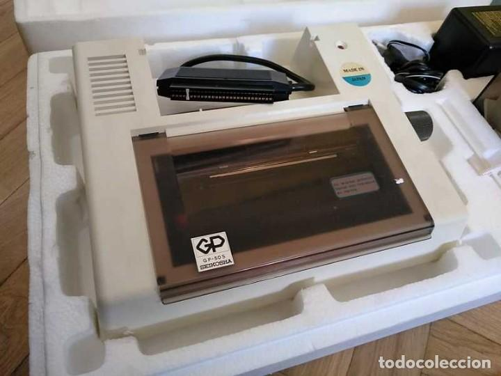 Videojuegos y Consolas: IMPRESORA SEIKOSHA GP-50S COMPATIBLE SINCLAIR SPECTRUM & ZX81 - PRINTER IMPRIMANTE DRUNCKER GP50S - Foto 4 - 155686126