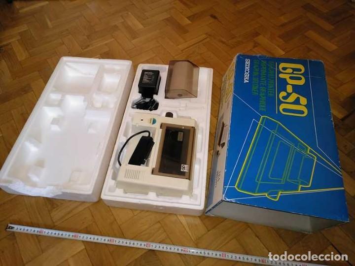 Videojuegos y Consolas: IMPRESORA SEIKOSHA GP-50S COMPATIBLE SINCLAIR SPECTRUM & ZX81 - PRINTER IMPRIMANTE DRUNCKER GP50S - Foto 12 - 155686126